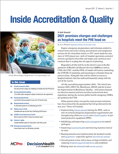 Inside Accreditation & Quality January 2021