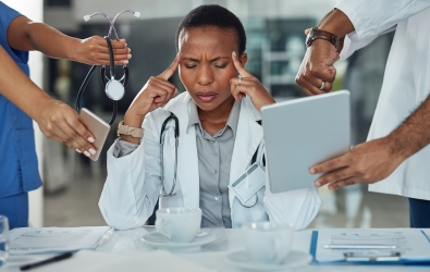 National Physician Burnout Expert Shares Insights: 'We Can Certainly Do Better'